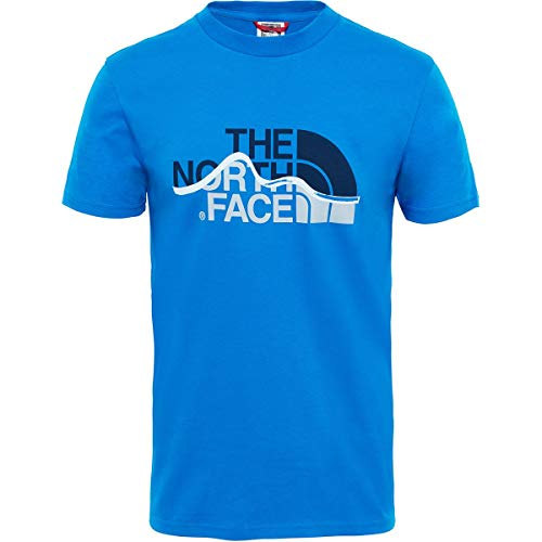 THE NORTH FACE T Shirt Herren Mount Line T-Shirt Sport Outdoor North Face Mount