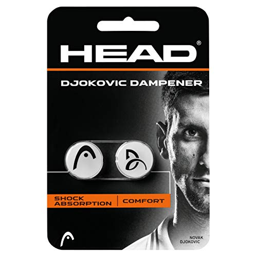 Head Djokovic Dampener, Tennis Accessori Unisex Adulto, White, One Size