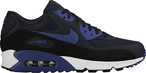 Nike Air Max 90 Essential Schuhe dark obsidian-court blue-black-white- 44