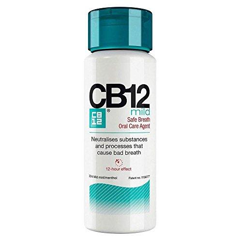 CB12 Mild Mint Menthol Mundwasser (250 ml) - Packung mit 2 (Mint Spray Mild)