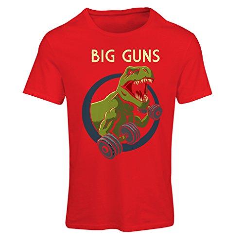 Frauen T-Shirt Trainieren Sie hart - für Gewichtheben und für Kniebeugen - Fitness, Crossfit, Gewichtsverlust (Medium Rot Mehrfarben) J Cole Kleidung