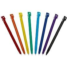 Stylus Bigben Regenbogen, 3 Stück für NDSi, NDSLite, NDSi XL (farblich sortiert - Farbe nicht auswählbar)