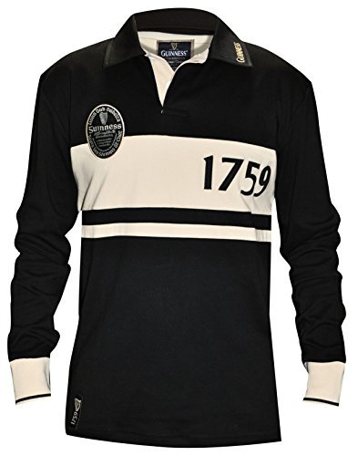 Guinness Klassicshe Label Rugby-Jersey (Guinness Rugby)