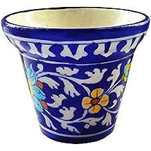 Shiv Kripa Blue Pottery Decorative Planter
