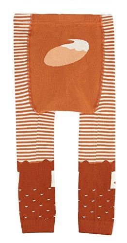 Eozy Legging Bébé Enfant Hiver Chaud Orange Chambre Élastique Collant 2-4 Ans
