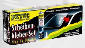 Petec 83333 Scheibenkleberset (Kleber Für Die Windschutzscheibe)