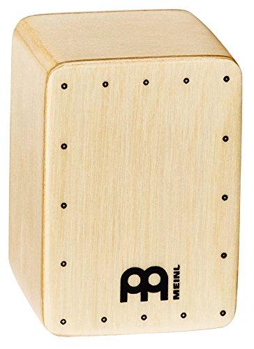 Meinl Percussion SH50 - Mini shaker a forma di cajon, in legno di faggio