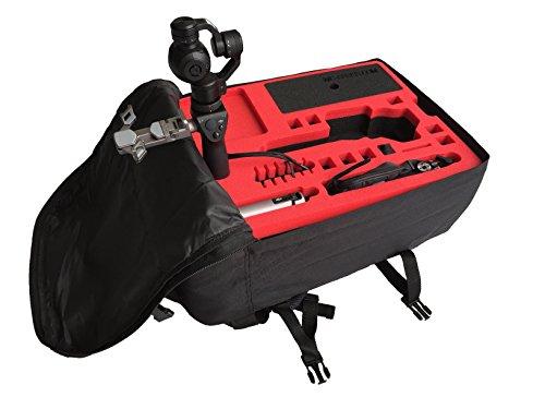 Rucksack / Transportrucksack für DJI OSMO/OSMO + für X3 / Inspire X3 und X5 Kamera! Viel Platz! Handgepäck!