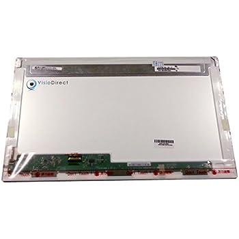 "Visiodirect® Dalle Ecran 17.3"" LED type B173RTN01.1 pour ordinateur portable WXGA++ 1600x900"