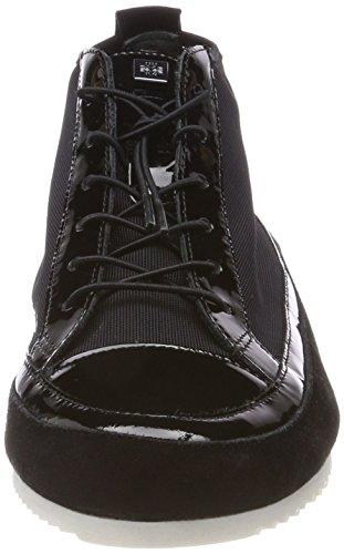 Högl 5-10 2316, Sneaker a Collo Alto Donna Nero (Schwarz)