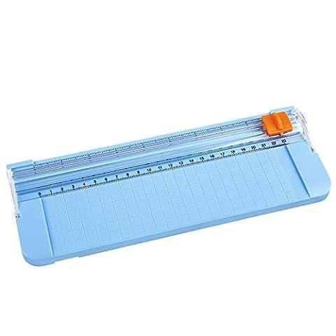 Cobee MINI Tondeuse de Papier Coupe Papier Guillotine de Papier Petit Trimmer Massicot 9090 avec 4 Couleurs