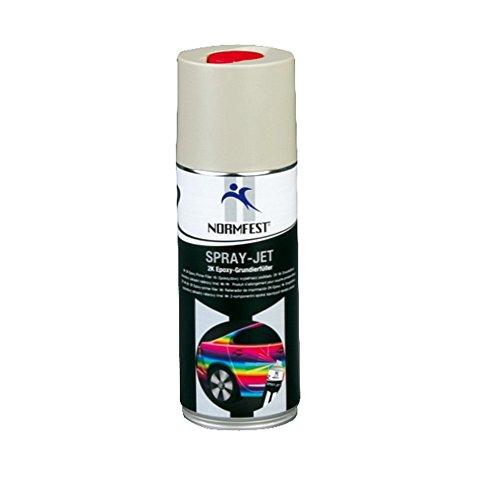 Preisvergleich Produktbild Auprotec® Normfest 2K Grundierfüller Epoxy Lack Füller Grundierung matt beige 400ml (1 Dose)