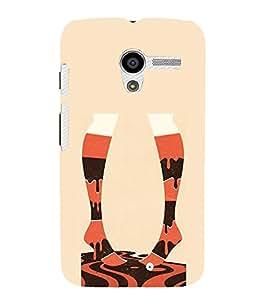 FUSON Elegant Fashion Illustration Leg 3D Hard Polycarbonate Designer Back Case Cover for Motorola Moto X :: Motorola Moto X (1st Gen) XT1052 XT1058 XT1053 XT1056 XT1060 XT1055