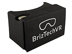 Google Cardboard v2.0 Virtual Reality Headset - Featuring Capacitive Touch Button,Compatible With iPhone and Android