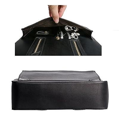 Estarer Sac à Main Ordinateur Portable Femme Cuir Sacoche de Travail Bureau Porte-Documents Dossiers Briefcase Business