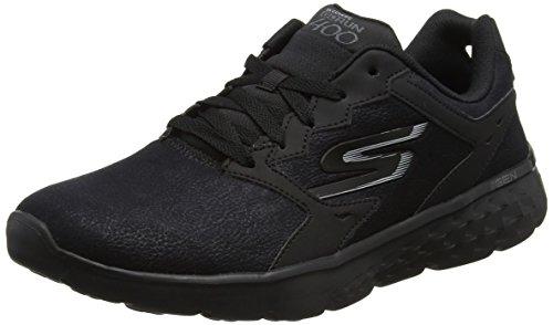 Skechers Performance Herren Go Run 400-Accelerate Laufschuhe, Schwarz (Black), 45 EU (Schuhe Für Herren Skechers-sport)
