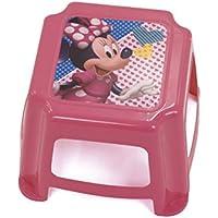 Preisvergleich für Arditex Tritthocker für Kinder Rutschfest unter Lizenz Minnie Mouse Maße: 27x 27x 21cm, Kunststoff, 27x 21x 27cm