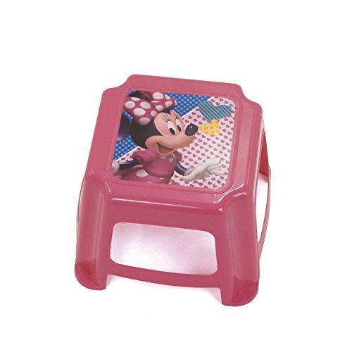 Arditex Tritthocker für Kinder Rutschfest unter Lizenz Minnie Mouse Maße: 27x 27x 21cm, Kunststoff, 27x 21x 27cm