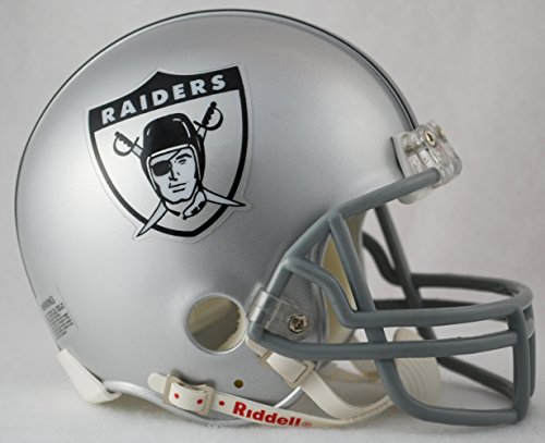 Caseys Verteilen 9585597722 Oakland Raiders 1963 R-ckfall Replica Helm mit Mini Z2B Face Mask