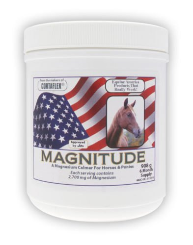 Equine America Magnitude Powder Calming Horse Supplements 908G