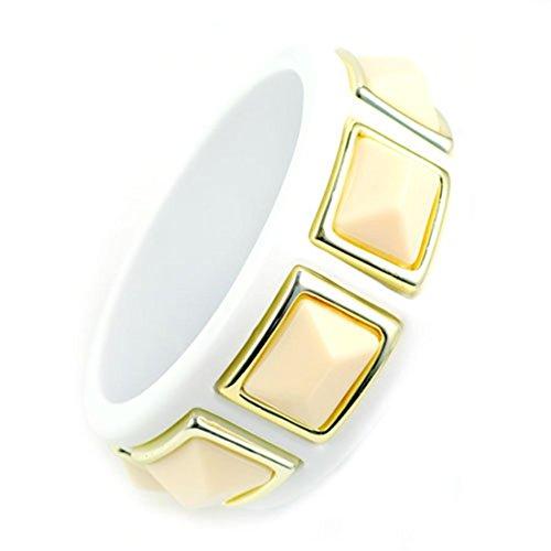 Stereo rettangolare in bracciali in resina-Braccialetto alla moda, (Rettangolare Bracciali)