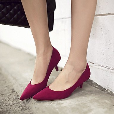 Moda Donna Sandali Sexy donna tacchi Primavera / Estate / Autunno tacchi / Punta / punta chiusa Casual Stiletto Heel Altri Black