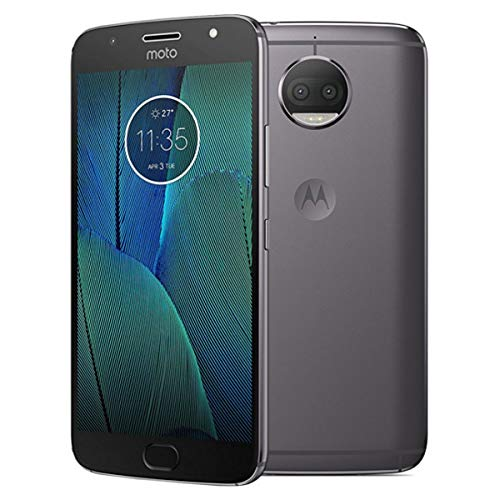 "Motorola Moto G5s Plus - Qualcomm Snapdragon - de 5.5"" Full HD 4GB RAM (Doble Sim, 4G, Bluetooth 4.2, Octa-Core de 2.0 GHz, Memoria 32 GB, 4 GB RAM, 13 MgPx, Android) Gris - Version Internacional-"
