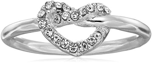 t-tahari-pave-heart-silver-ring-size-7