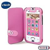 VTech- Funda Kidicom MAX, Color Rosa