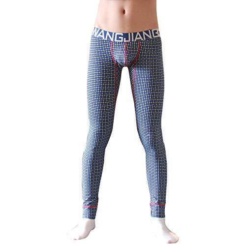 BABYSHAN_ Pants Pantaloni Lunghi da Uomo Tights Leggings da Corsa Uomo Calzamaglia Termica Primo Strato Uomo Pantaloni da Uomo A Compressione Termica sotto Leggings Lunghi Attillati