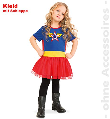 üm Super Wendy Girl Kinder Fasching/Karneval - 116 ()