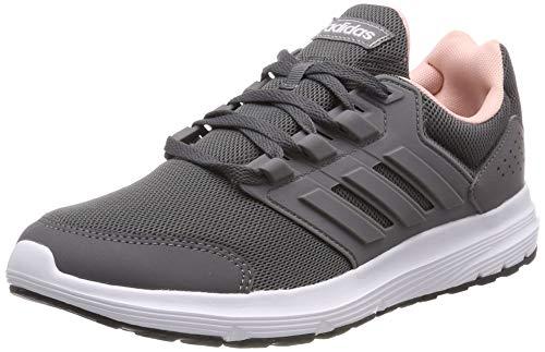 adidas Damen Galaxy 4 Laufschuhe, Grau Grey/Footwear White 0, 40 EU