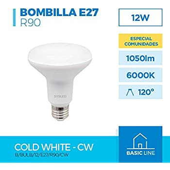 LÁMPARA REFLECTORA LED R-90 12W E-27 230V 6000K
