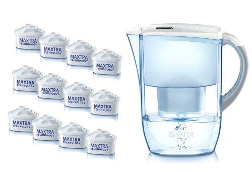 Brita Fjord Caraffa filtrante per acqua con filtri...