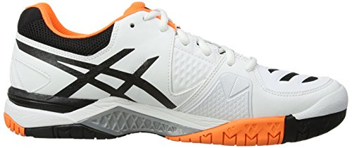 Asics - Gel-Challenger 10, Scarpe Da Tennis da uomo White/Onyx/Flash Orange 199