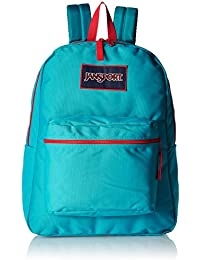 39ff7bb4bb51 JanSport Overexposed Polyester 25 Ltrs Algiers Blue High Risk Red School  Backpack (JS00T08W0MS)