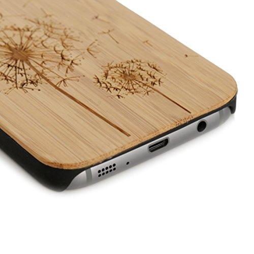 Arktis iPhone 8 / 7 Case, Arktis Holzhülle Holz Cover - Weltkarte Pusteblume