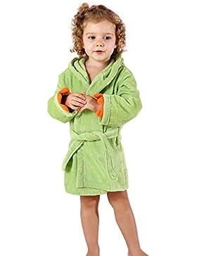 MICHLEY Baby Bademantel 100% Baumwolle kapuzenhandtuch