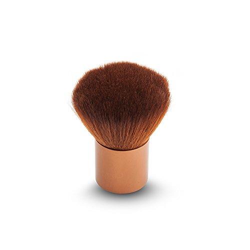 Qinlee 1 pièces Pinceaux de Maquillage Fond De Teint Blush Poudre Liquide Crème Cosmetics Pinceaux(Brown)