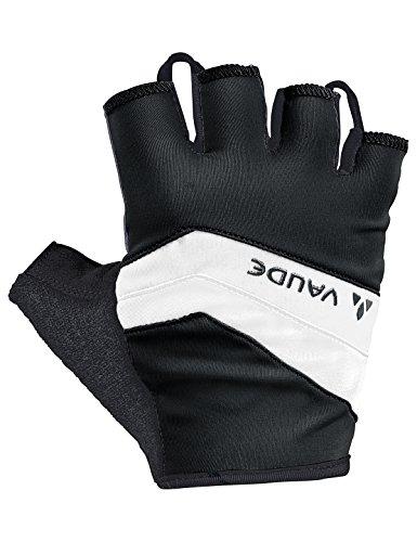 VAUDE Herren Active Gloves Handschuhe, Black/White, 10