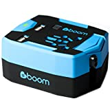 #boom Travel Adapter Power Bank. ULTIMATE TRAVEL ADAPTOR Portable USB CHARGER Wall Plug with Built In 6000mAh POWER BANK External Battery & 2.5A 2 Port Fast USB Charger. Simultaneous AC Power & USB Charging. International 150+ Countries inc. UK EU USA Thailand Australia. 1 Yr Warranty.