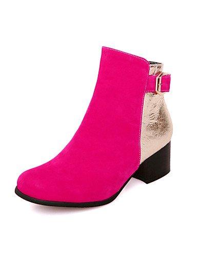 ShangYi Mode Frauen Schuhe Damenschuhe Keile / Fashion Stiefel Outdoor / Büro & Karriere / Casual Keilabsatz OthersBlack / &13-1 Schwarz