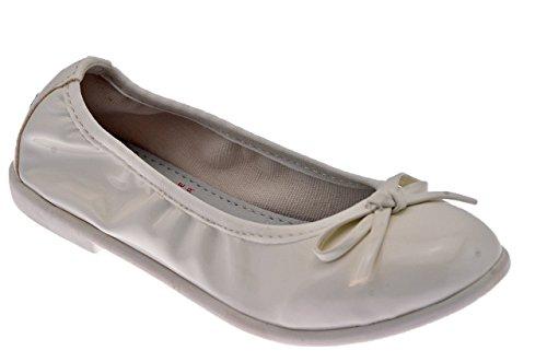 Lelli Kelly Marta Ballerines Neuf Chaussures Enf. Blanc
