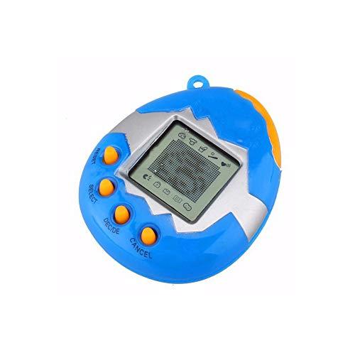 beito 1pack divertenti animali giocattolo retro 49 animali in one virtual pet cyber ??giocattolo tamagotchi digitale pet portachiavi (con 2 pezzi da 1,5 v batteria del tasto) colore casuale