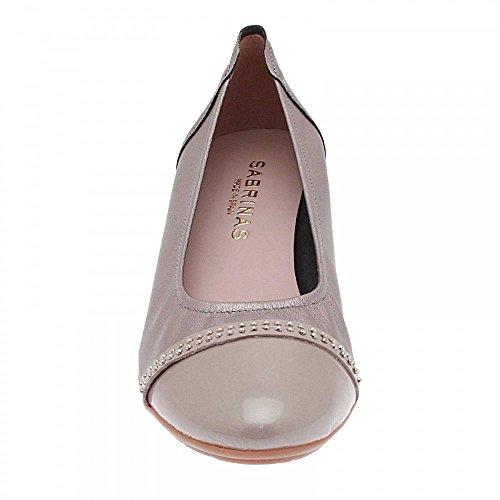 Sabrinas Low Wedge Ballet Pump Taupe