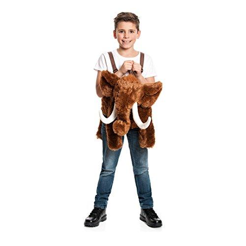 Kostümplanet® Mammut-Kostüm Kinder Reittier Eiszeit Junge + Mädchen Kinder-Kostüm (Reittier Kostüm)