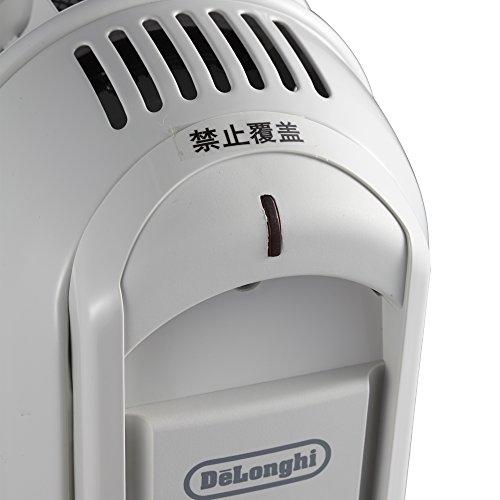 Delonghi V550920 Radiateur Bain d'Huile Série Vento, 2000 W, Blanc