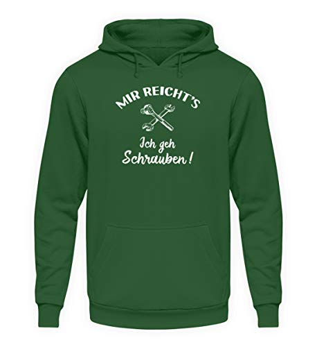 shirt-o-magic Mechaniker: Ich GEH Schrauben! – Unisex Kapuzenpullover Hoodie