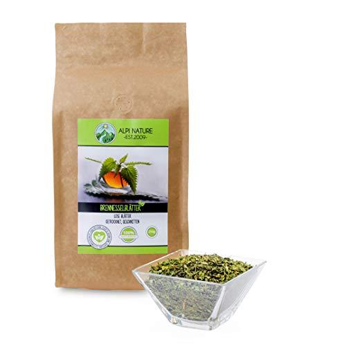 Brennesseltee (250g), Brennnesselblätter, 100{b77e62d897fa30567e0d0dd9e0741288c2a0d0e6768b40615219c98bae049247} natürlicher Brennnessel Tee, Kräutertee lose, geschnitten, natürliche Brennessel zum entwässern, geeignet zum Kochen, reich an Inhaltsstoffen