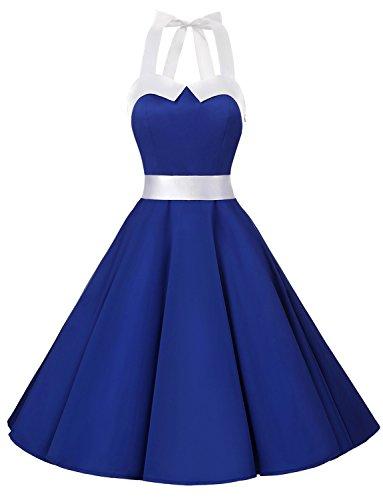00ffbd2d20a Dressystar DS1957 Robe de Bal Polka Vintage pin-up à  Audrey Hepburn  50 s
